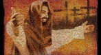 Saddleback Church Jesus Mosaic Mural 2010
