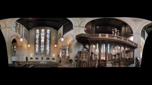 Calvary Church interior