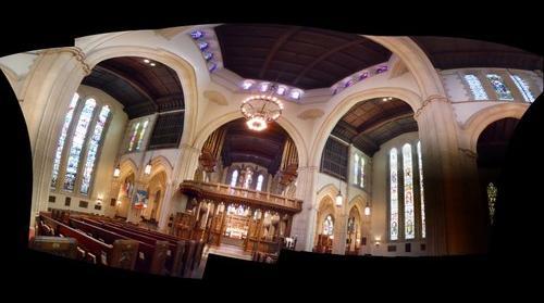 Calvary Church Interior 2
