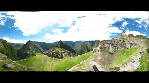 Machu Picchu 360 Degree View