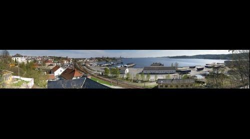 Larvik harbour