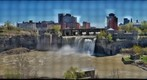 Rochester&#39;s High Falls in the Spring