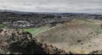 Edinburgh from Arthurs seat.