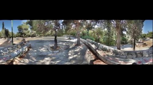 Ilisia park 360 panorama