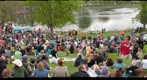 May Day celebration at Powderhorn Park, Minneapolis