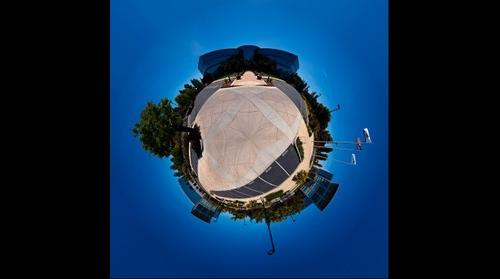 Panorama of NetApp HQ(Sphere)