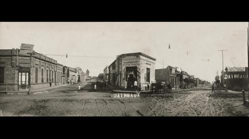 Daireaux - Rivadavia y Mitre (entre 1920 y 1930)