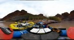 Grand Canyon GigaView #13 Hance Rapid - On the Boats