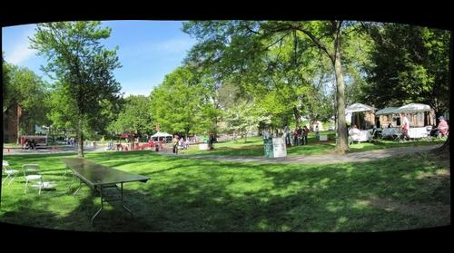 whereRU: Old Queens view of Rutgers Day 2010