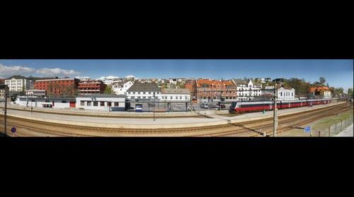 Larvik Railroad Station