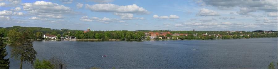 Inselstadt Ratzeburg Panorama 2