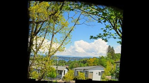 View from Radford Drive, Seattle, Washington.