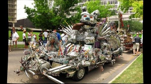 Art Car parade car #299