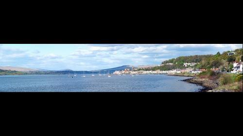 Ashton bay, Gourock. Scotland