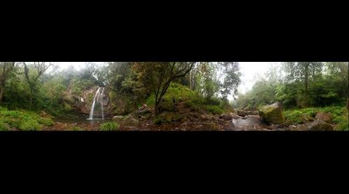 Cascada en Cuetzalan Puebla Mexico