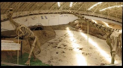 Liujiaxia Dinosaur Geopark, Gansu Province, China