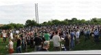 Sword&#39;s FNL May 7th 2010 Sword Panorama 2 - View of crowd at 7:00 pm