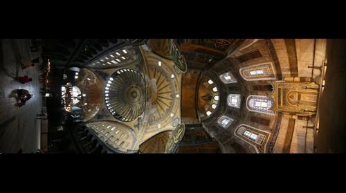 Ayasofya_kuzey-guney (Hagia Sophia North_South) Istanbul