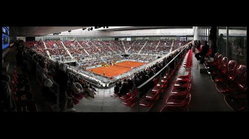Primer partido de Nadal en el Masters de Tenis de Madrid