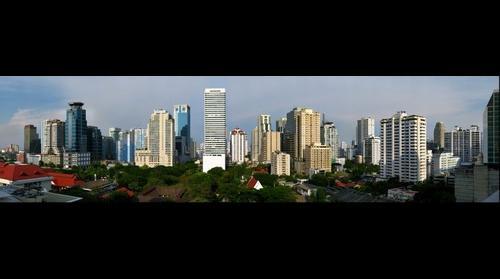 Bangkok Skyline - Asok Montri