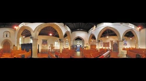 Haversham St Mary's Church Interior