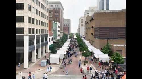 Tulsa Mayfest Down Main Street