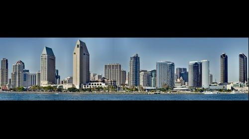 Coronado California to Downtown San Diego