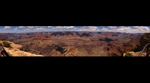 Grand Canyon - Hopi Point Overlook 180 Degree Panorama View