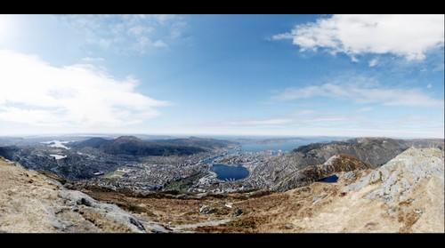 Bergen sett fra Ulriken