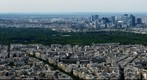 Panorama from Eiffel Tower in Paris 360degree