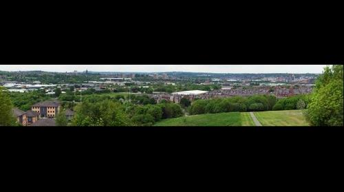 Leeds from a park in Beeston 2
