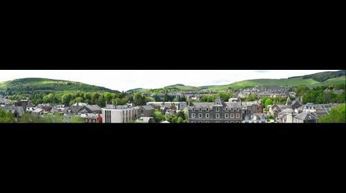 Galashiels, Scottish border town