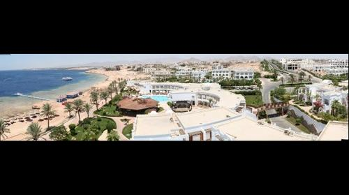 Melia Sinai hotel view