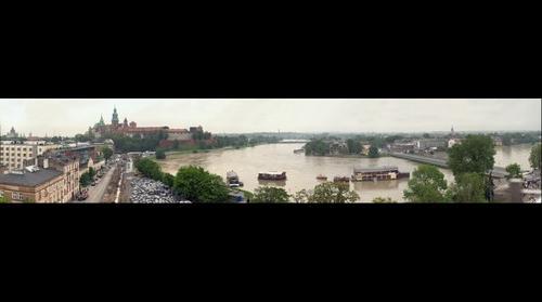 Flood alarm in Krakow