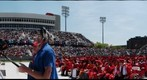 Stony Brook University - Main Commencement Ceremony at Kenneth P. LaValle Stadium, May 21, 2010 (Panorama 2)