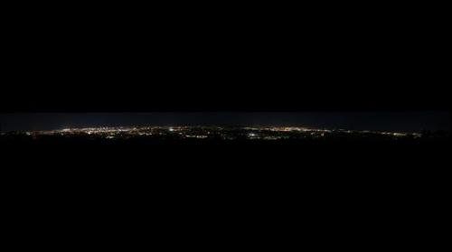 Brisbane at Night - Mt Coot Tha