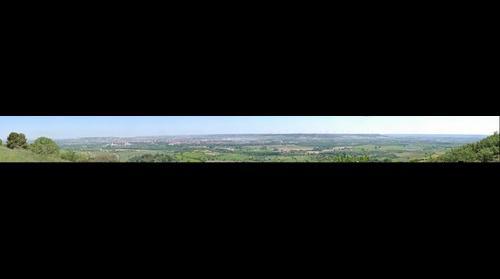Panorama de Palencia desde el monte II