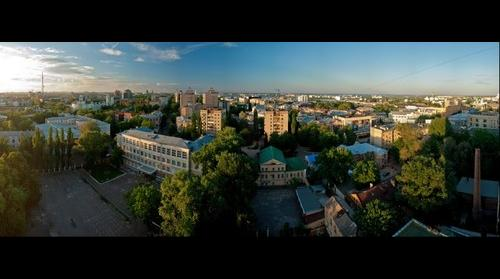 Voronezh city center