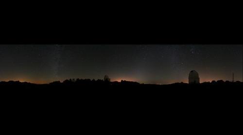 Stars at Calar Alto German-Spanish Astronomical Center, Almeria (Spain)