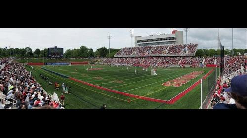 Stony Brook University vs. University of Virginia Lacrosse Game, 5/23/2010 (Panorama 1)