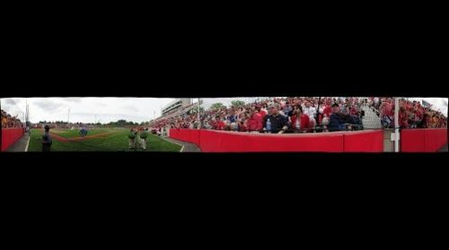Stony Brook University vs. University of Virginia Lacrosse Game, 5/23/2010 (Panorama 3)