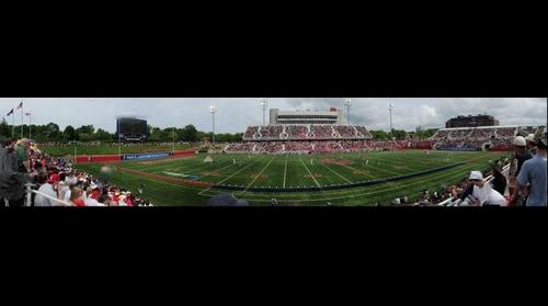 Stony Brook University vs. University of Virginia Lacrosse Game, 5/23/2010 (Panorama 4)