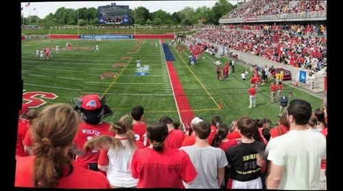 Stony Brook University vs. University of Virginia Lacrosse Game, 5/23/2010 (Panorama 6)