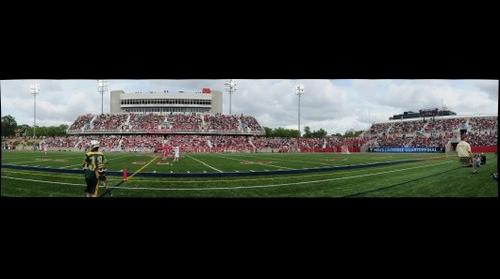 Stony Brook University vs. University of Virginia Lacrosse Game, 5/23/2010 (Panorama 7)