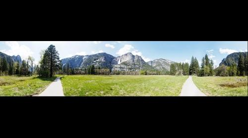 Yosemite Valley 360°x85°