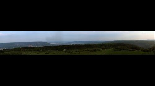 Jena, view form napoleonic battlefield