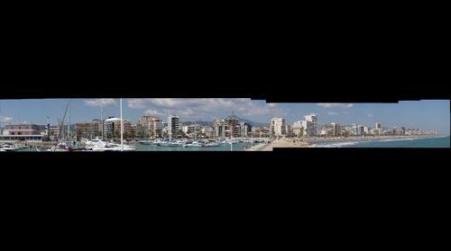 Playa y Puerto de Gandia