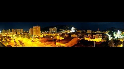 Panoramica nocturna desde mi balcon