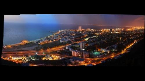 Haifa night