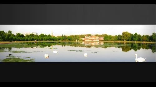 The Round Pond, Kensington Gardens